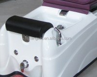 Cheap Purple Whirlpool Spa Pedicure Chair For Beauty Salon