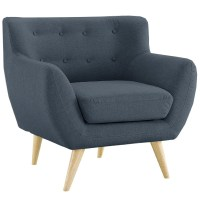 Mid Century Modern Tufted Button Living Room Accent Chair ...