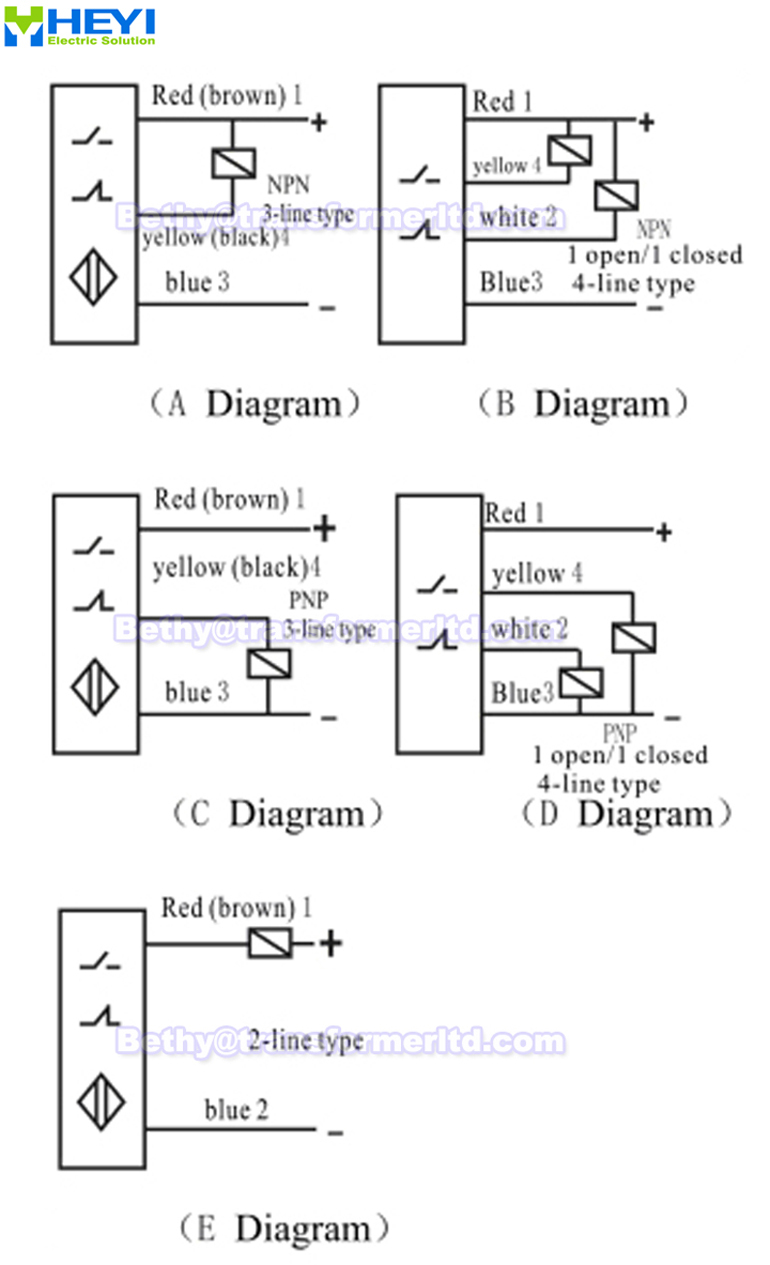 Magnetic Proximity Sensor Lj12a3-4-z/ex & Lj12a3-2-z/dx 2