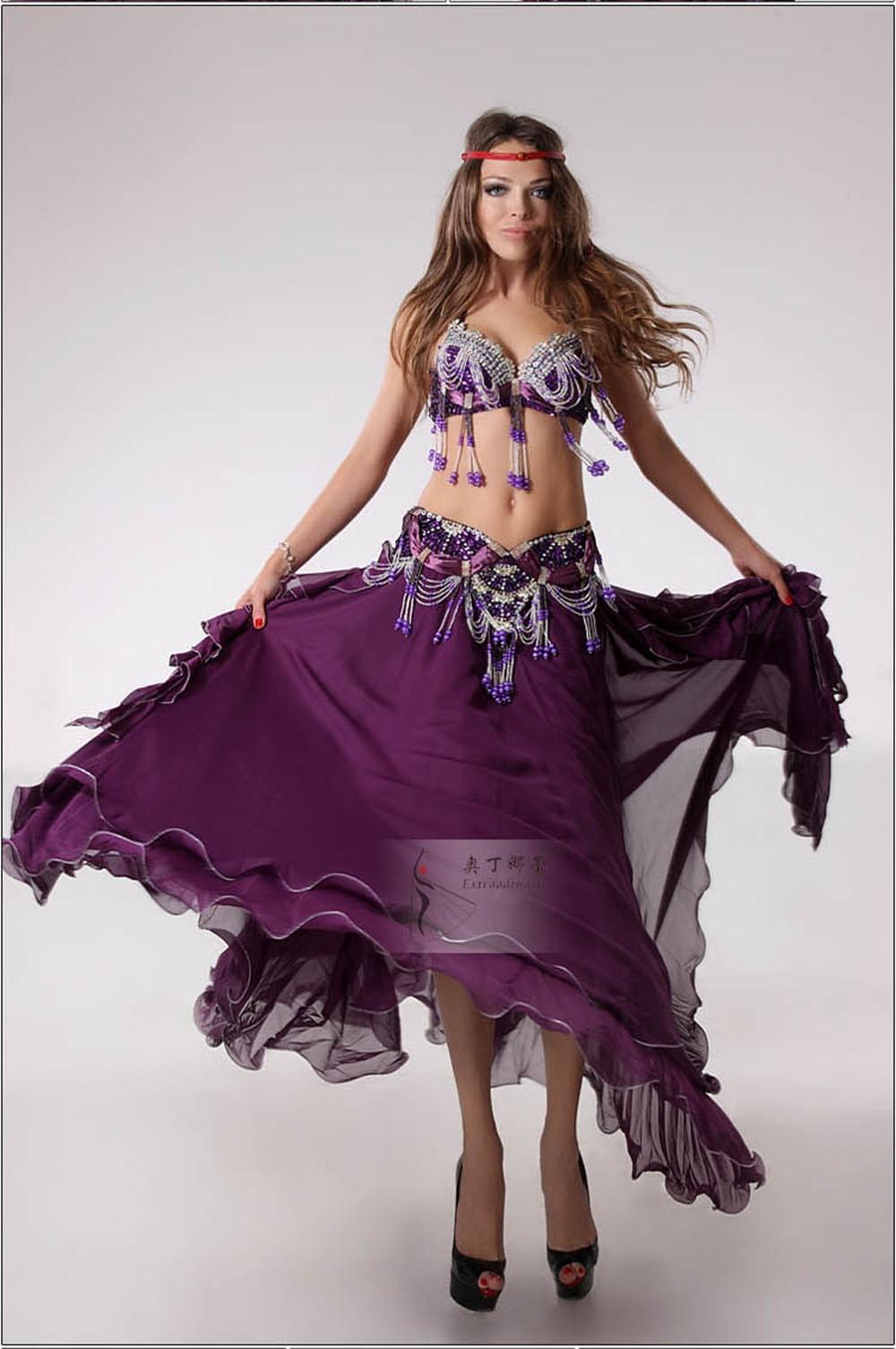 ჱ2016 Nueva India trajes de danza del vientre trajes ropa del ...
