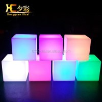 Wholesale Outdoor LED Light Up Bar Cube Furniture Plastic