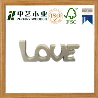 unfinished Wood Word Letters Free standing LOVE Wedding ...