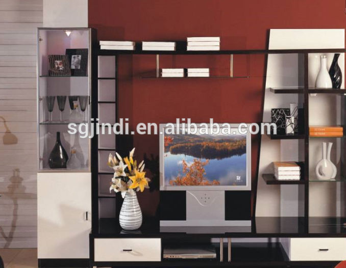 Corner Showcase Designs For Living Room Modern Wood Tv Stand Showcase Design - Buy Wooden Tv Stand