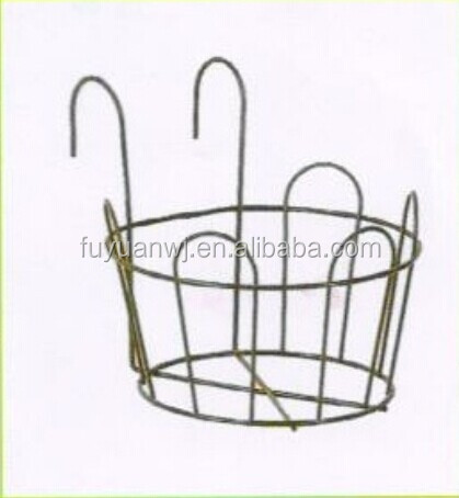 Steel Plant Holder/ Wall Basket/ Wire Flower Pot Holder