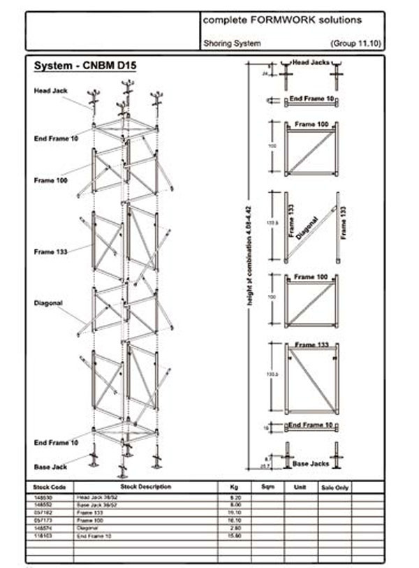 Plastic Quick Stage Scaffolding Scaffoldings For Building