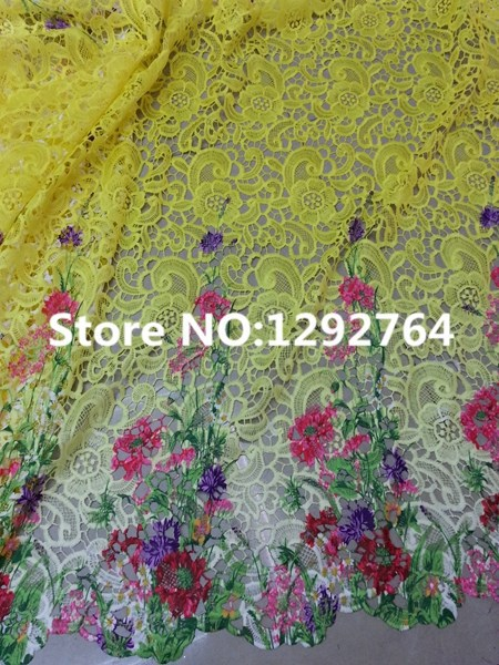 Lace Arts,crafts & Sewing Special Section 1yard Africa Lace Fabric Nigeria High Quality White Embroidery Lace Accessories Width 18cm Diy Dress Wedding Decoration Material Top Watermelons