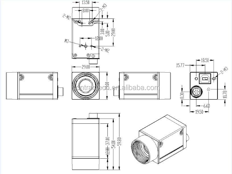 Ex1400-6ucs Good Price 14 Megapixel Mini Usb Digital
