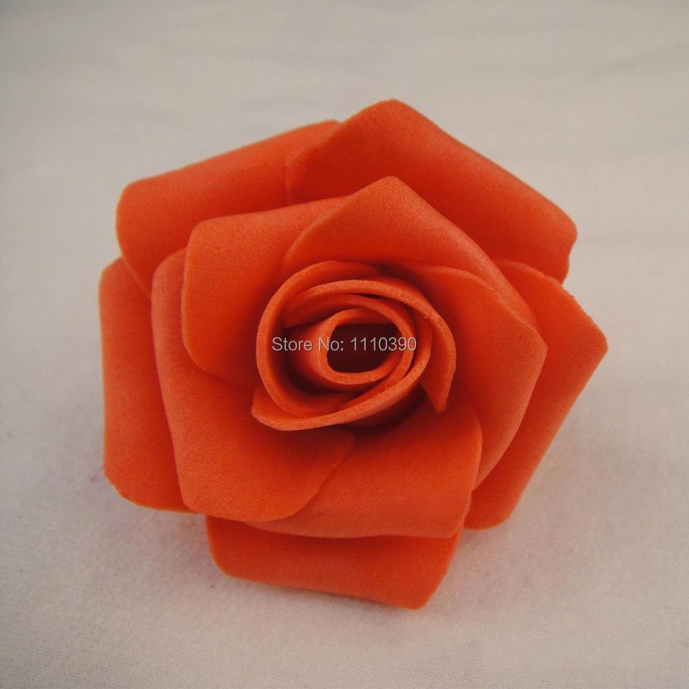 5cm Artificial Roses Flowersfloral Eva Foam Roses Flower Heads