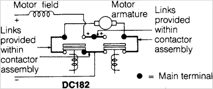Albright 80v Dc182b-581t Contactor As Electric Golf Carts