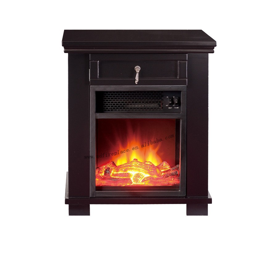 Small Decorative Electric Fireplace With Drawer  Buy