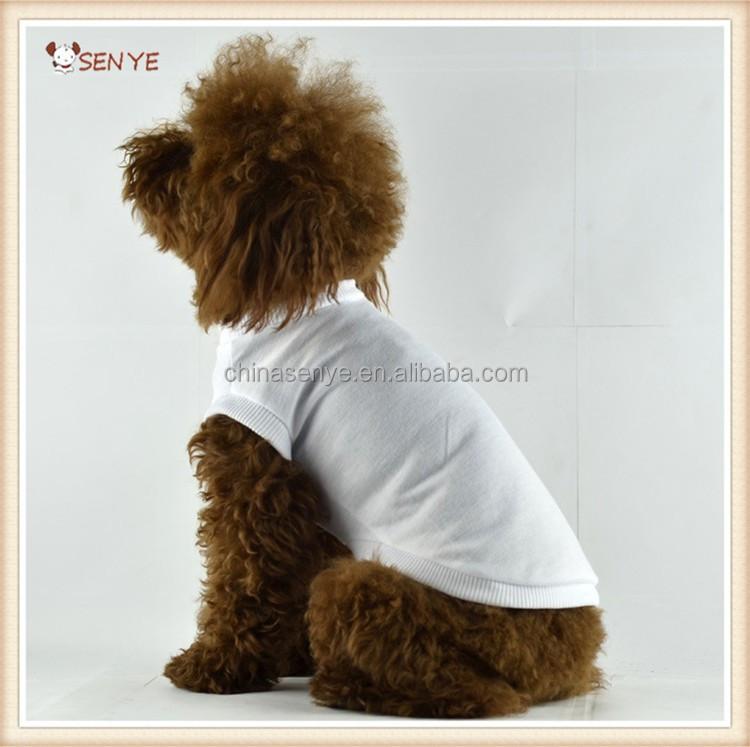 Wholesale Diy Blank Dog T