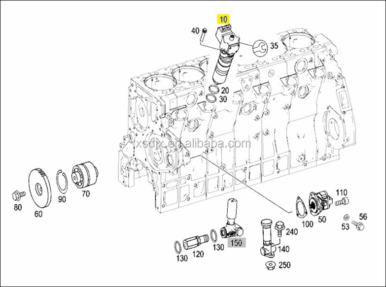 0280745902 / 0414799005 / 0986445002 Unit Pump Spare Parts
