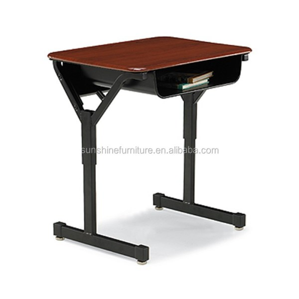 Modern Cheap School Furniture Children Adult Single Student Desk