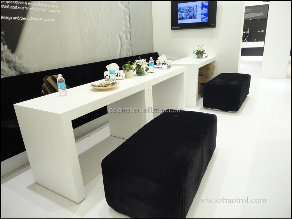White Acrylic Nail Salon Furniture Modern Nail Technician
