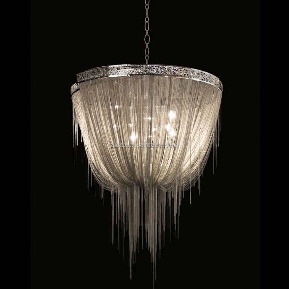 Modern Italian Decorative Lighting Chain Chandelier Light