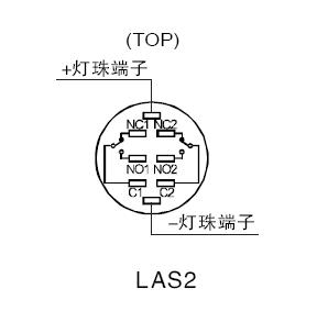 Onpow Push Button Switch Plate(las3f-d)(ce,Ccc,Rohs,Reech