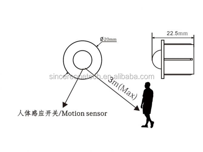 Pir Sensor Switch Wholesale Light Sensor Controller Switch