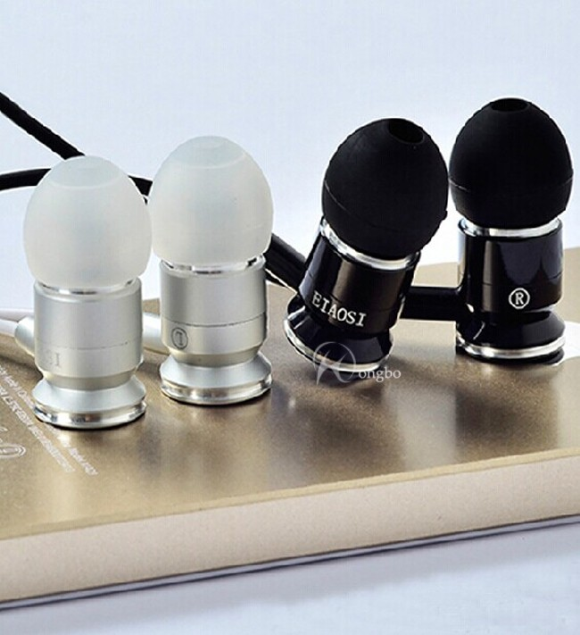 2014 סופר בס המותג ב-האוזן אוזניות עבור iPhone /סמסונג / MP3 / MP4 רעש מבטל אוזניות אוזניות עם מיקרופון