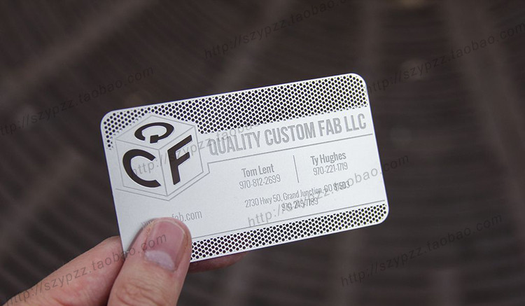 Metallic color metal business cards 100pcs a lot deluxe metal metallic color metal business cards 100pcs a lot deluxe metal business card vip cardsdouble side free shipping no3014 reheart Choice Image