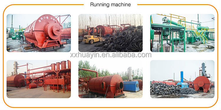 HUAYIN BRAND 5th generation pyrolysis recycling plant