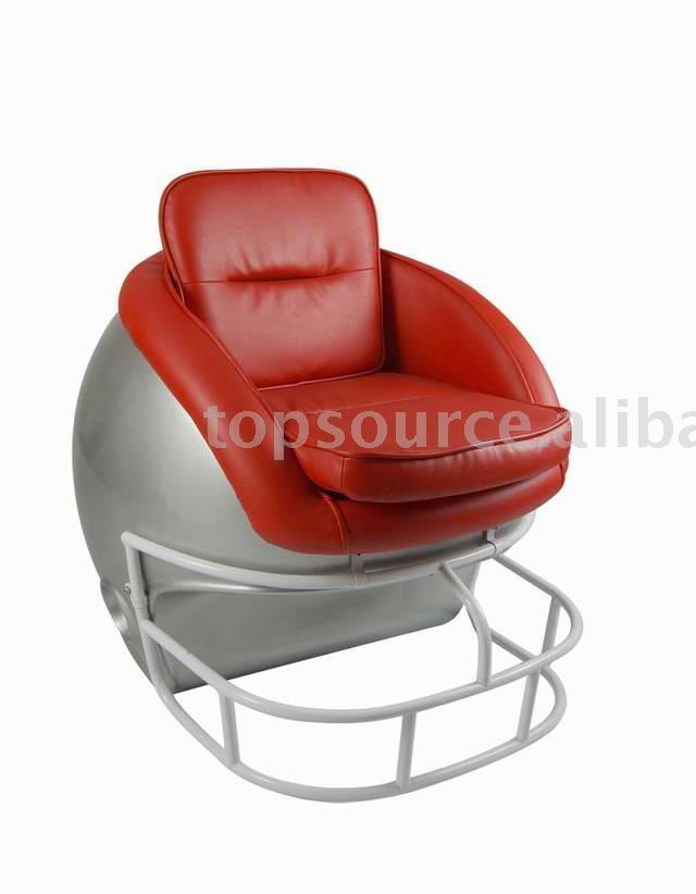 Football Helmet Chair