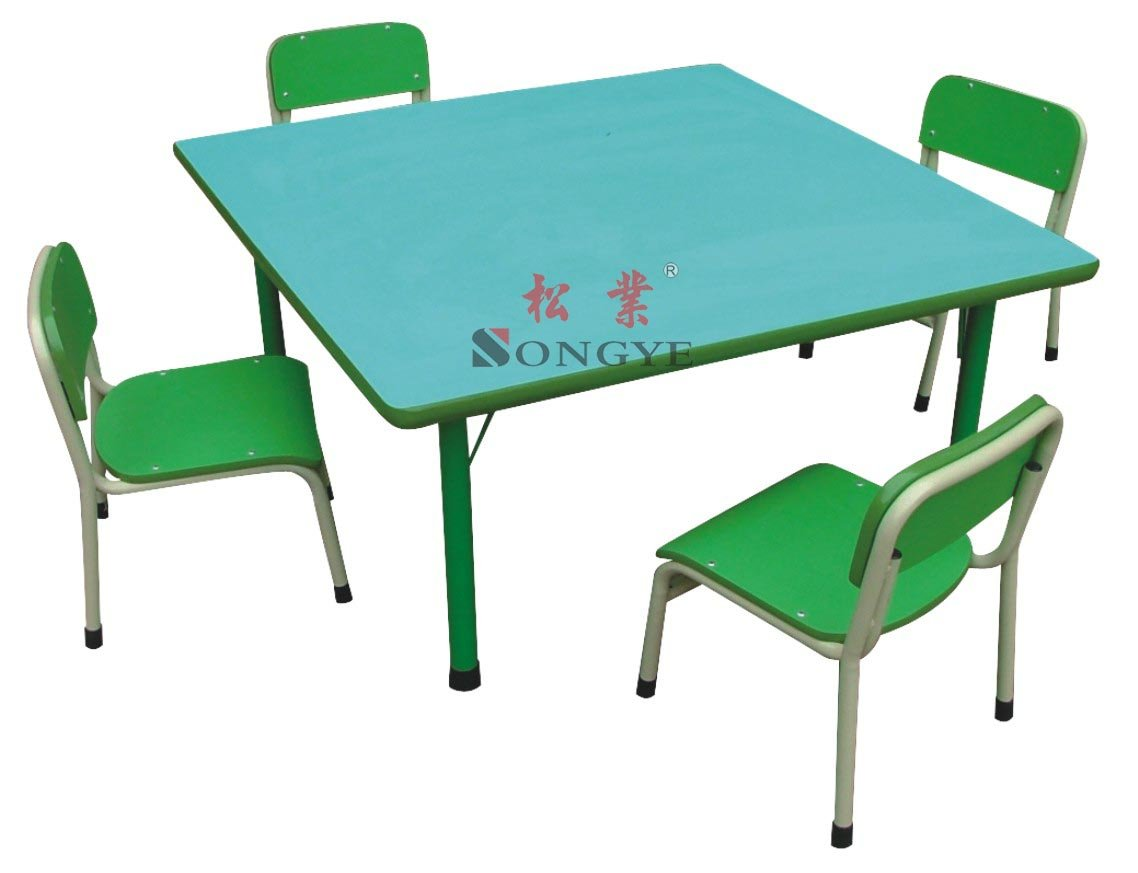 School Table And Chairs Kid 39s Square Table School Desk And Chair Desk And Chair