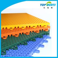 Plastic Interlocking Workshop/sport Court/gym Floor Tiles ...
