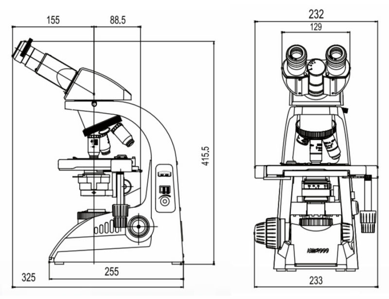 Sc-bm2000 Multipurpose Laboratory Binocular Infinite