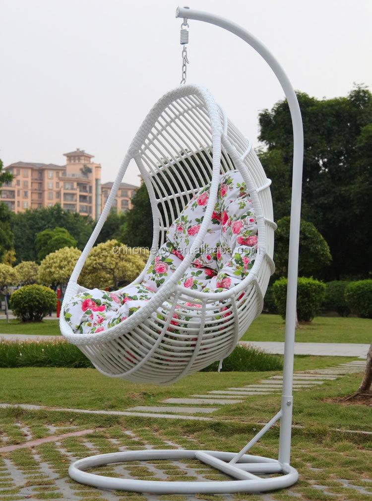patio hanging egg chair big lots lawn covers vente chaude pas cher rotin fauteuil suspendu, suspendus chaise d'oeufs avec support-balançoire ...