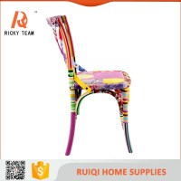 Colorful French Rattan Seat X Back Chairs Wood - Buy X ...