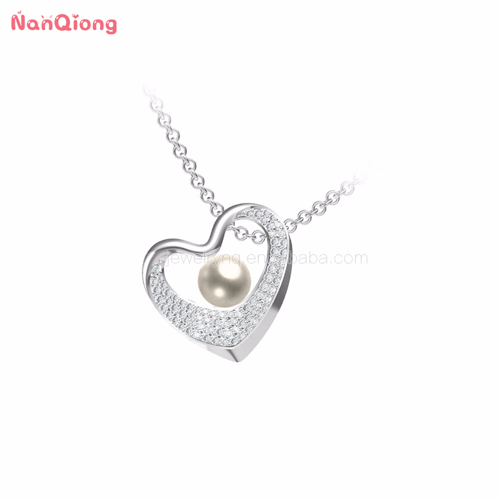 Mexican Heart 925 Silver And Gemstone Jewelry Freshwater