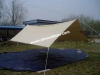 Canvas Beach Tent/sun Shade - Buy Beach Chair Sun Shade ...