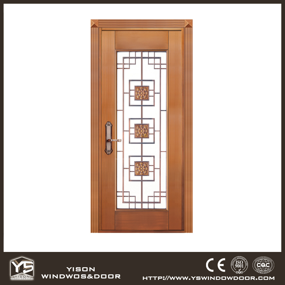 Unequal Bronze Exterior Door Copper Door Front Double Door