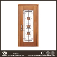 Unequal Bronze Exterior Door Copper Door Front Double Door