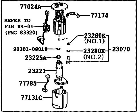 Fuel Pump Assembly For Toyota Land Cruiser Prado Trj150