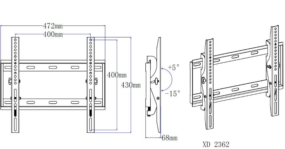 Mounting Dream 2015 Newly Tilting Tv Wall Mounts Tv