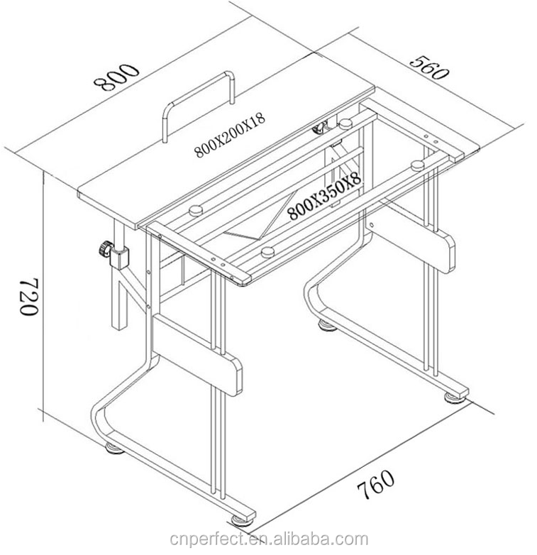 2015 Top Sale Cheap Tempered Glass Computer Desk Assembly