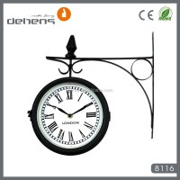 Double Sided Station Wall Clock - Buy Double Sided Station ...