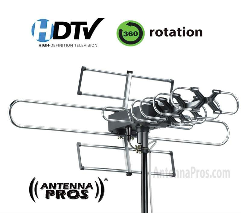 Antenna Pros Spectrum7 Outdoor Hdtv Antenna With Motor