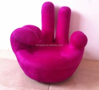 Hand Victory Finger Leisure Sofa Chair