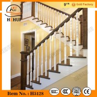 Indoor Wood Stair Railing Designs