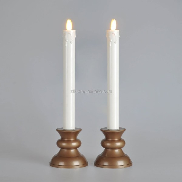 Flameless Window Candles with Timer