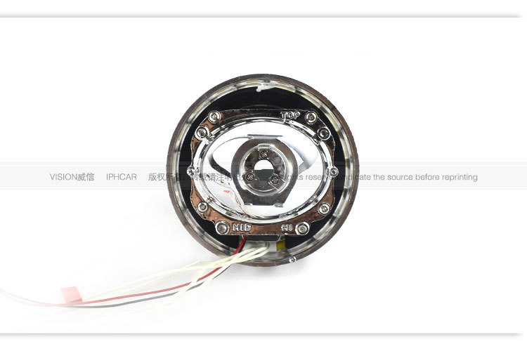 12v 35w Vision Bi-xenon Projector Lens Light Angel Eyes Bi
