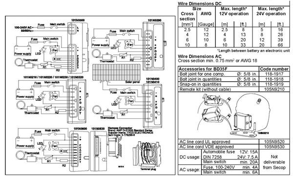 R134A DC AC Inverter Refrigerator Compressor 12V BD35F