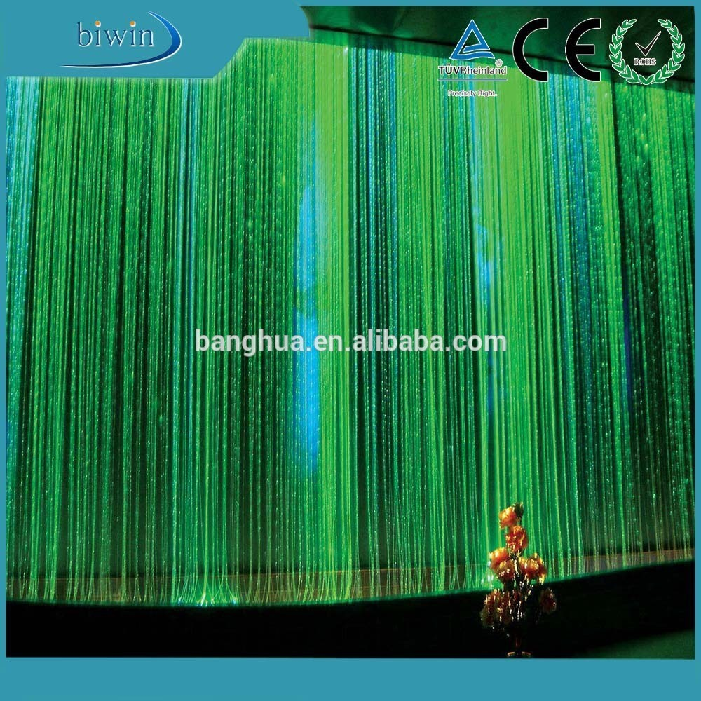 Outdoor Fiber Optic Window Decorative Lighting Curtain