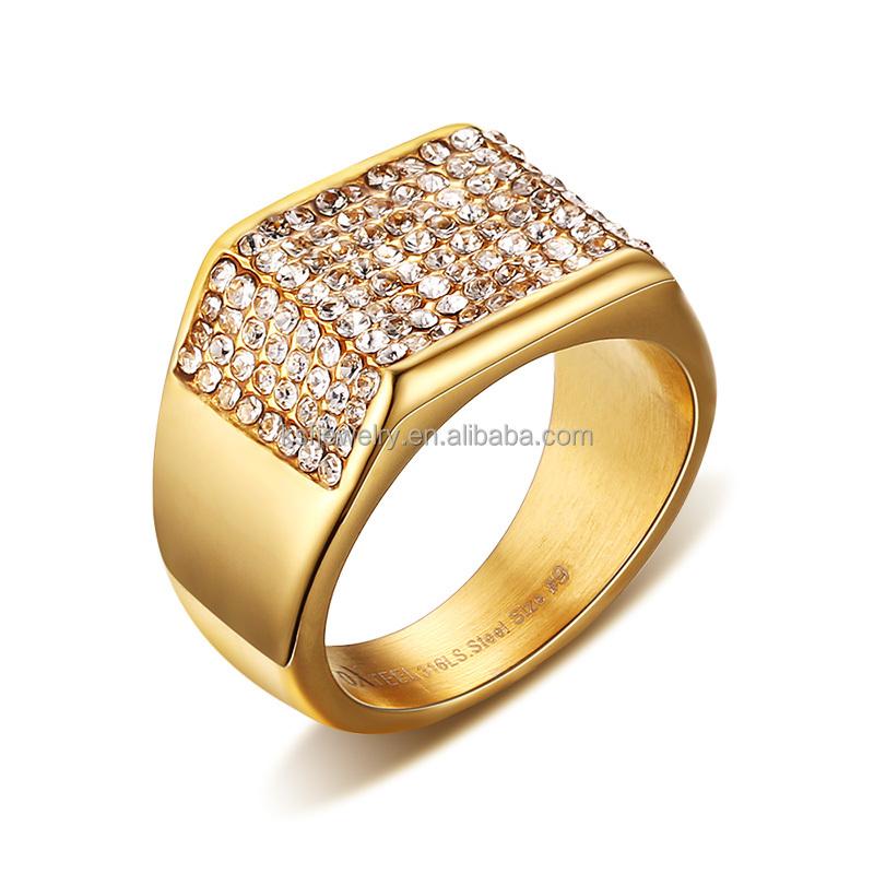 men jewelry finger rings gold