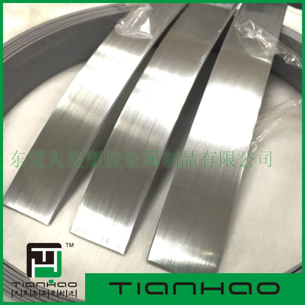 Flexible Countertop Edging Metal Table Edge Banding Pvc