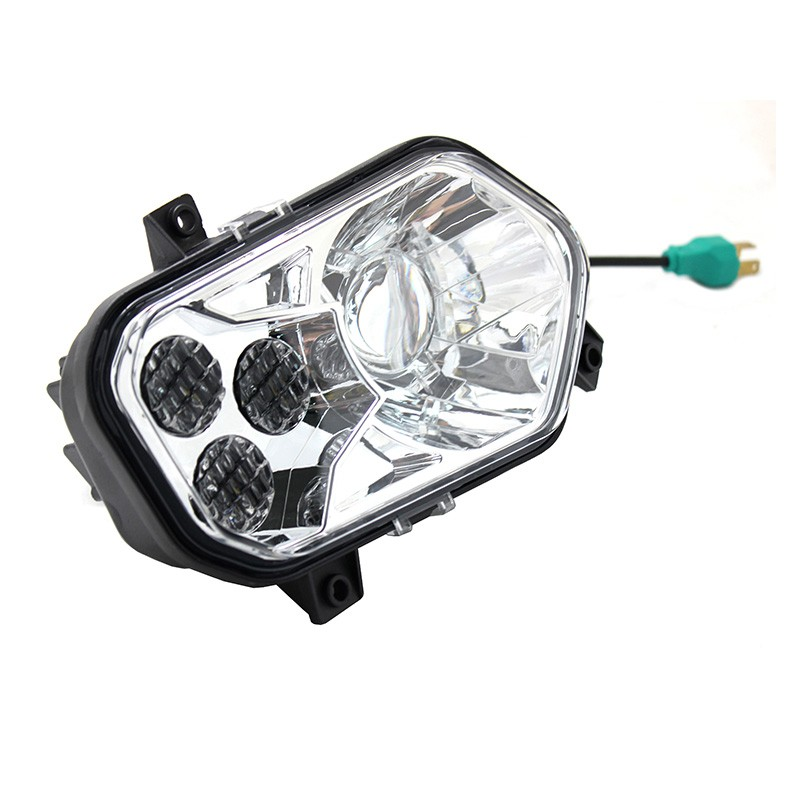 Wukma Led Headlightd Fit For Polaris Rzr Xp 800 900 Led