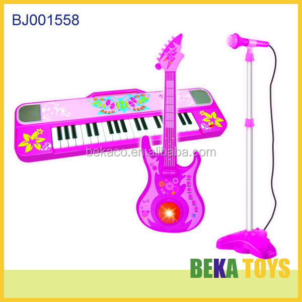 Electric Electrolytic Electronics Cartoon Musical Electric Guitar