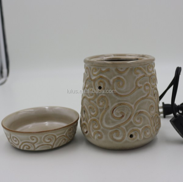 White Ceramic Electric Fragrance Tart Warmer